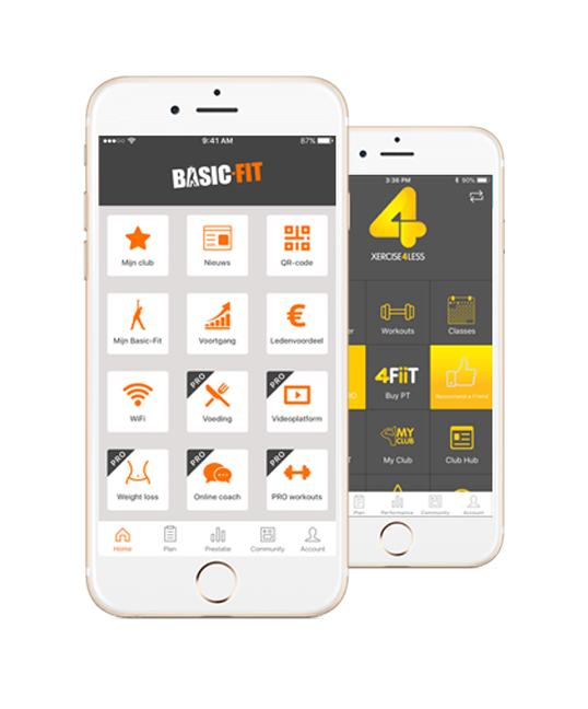 Custom Fitness App for Gyms & Personal Trainers | Virtuagym